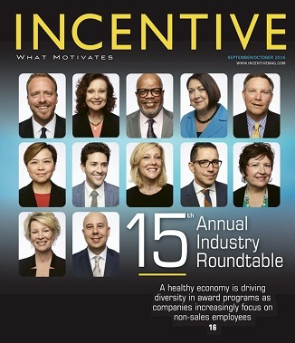 "Awarded ""Manufacturers Rep - Outstanding Customer Service"" by Incentive Magazine"
